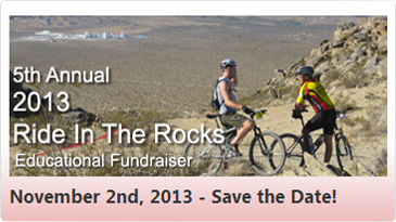 2014 Ride in the Rocks Event Announcement Banner