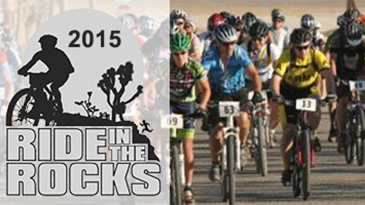 2015 Ride in the Rocks Event Announcement Banner